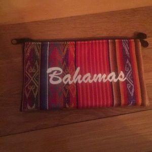 'Bahamas' zippered coin holder